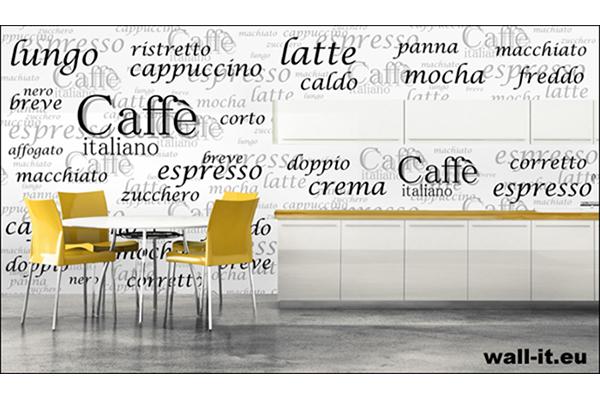 najlejka caffe italiano także na drzwi