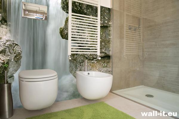 wodospad na ścianę